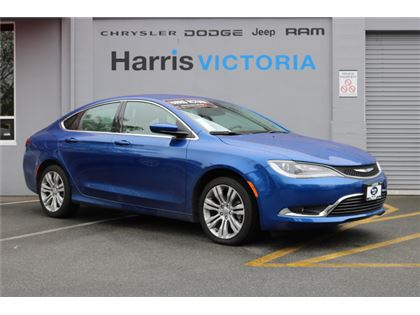 Pre-Owned 2016 Chrysler 200 Limited Very Low Mileage! Front Wheel Drive Car