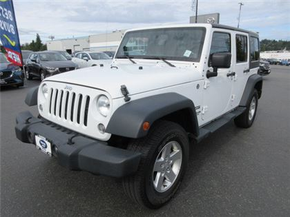 Pre-Owned 2014 Jeep WRANGLER UNLIMITED Sport with Bluetooth