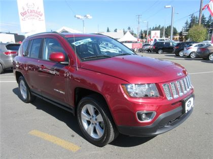 Pre-Owned 2016 Jeep Compass High Altitude AWD Low Kilometers 4x4 Sport Utility
