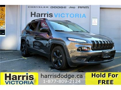 Pre-Owned 2017 Jeep Cherokee Altitude One owner,Low Kms Front Wheel Drive Sport Utility