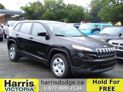 Pre-Owned 2017 Jeep Cherokee Sport,Low Kms,No Accidents Front Wheel Drive Sport Utility