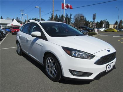 Certified Pre-Owned 2015 Ford Focus SE Warranty Low Kilometers FWD Car
