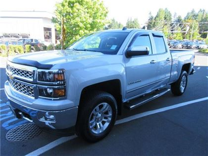 Pre-Owned 2014 Chevrolet Silverado 1500 Silverado 4x4 Double Cab/Navigation/Leather/5.3 li 4x4 Truck