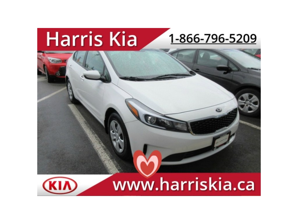 Certified Pre-Owned 2017 Kia Forte LX Low Kilometers Warranty