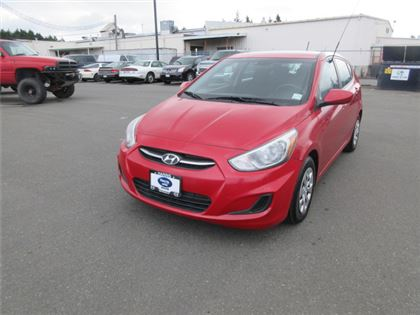 Pre-Owned 2015 Hyundai Accent GLS FWD Car
