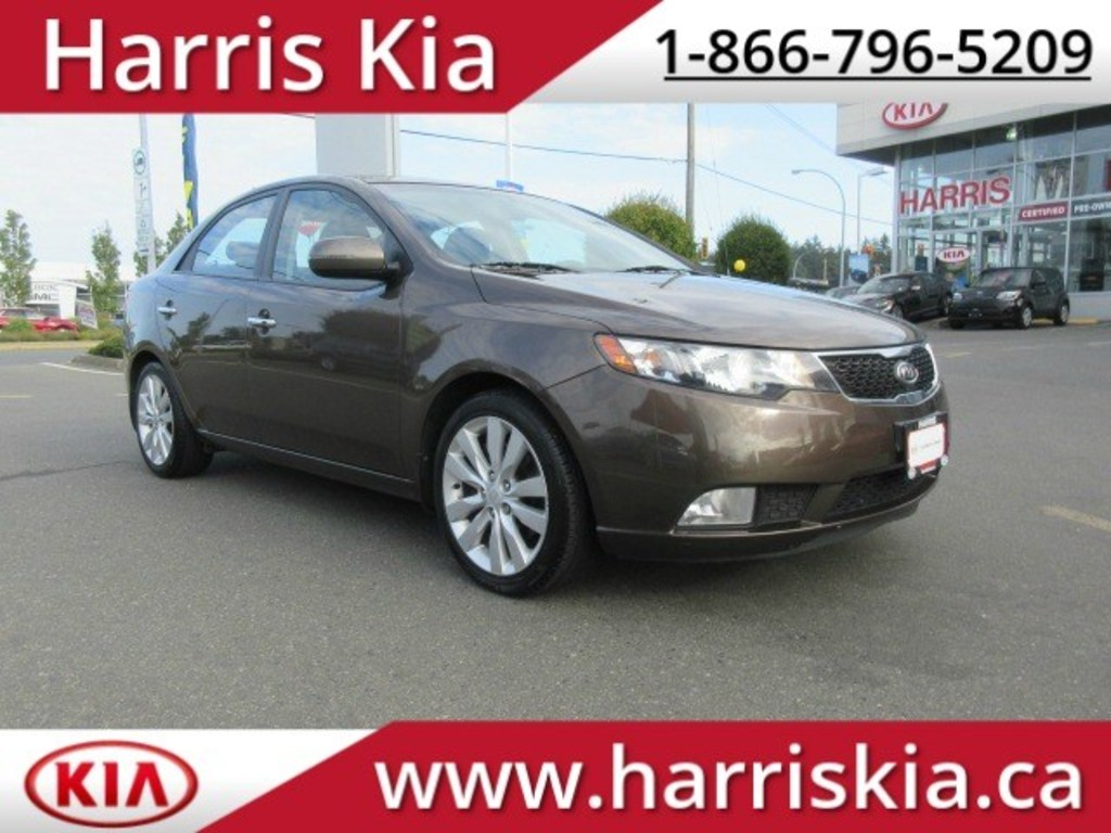 Pre-Owned 2012 Kia Forte SX Power Sunroof Heated Front Seats