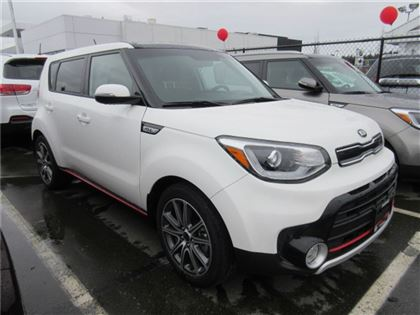 New 2017 Kia Soul SX Turbo Tech $1,500 in Savings FWD Sedan
