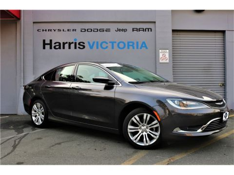 Pre-Owned 2016 Chrysler 200 Limited,Low Kms,GPS Navigation FWD Sedan