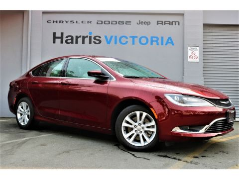 Pre-Owned 2016 Chrysler 200 Limited,Low Kms Front Wheel Drive Sedan