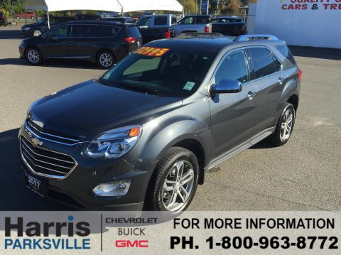Pre-Owned 2017 Chevrolet Equinox Premier With Navigation & AWD