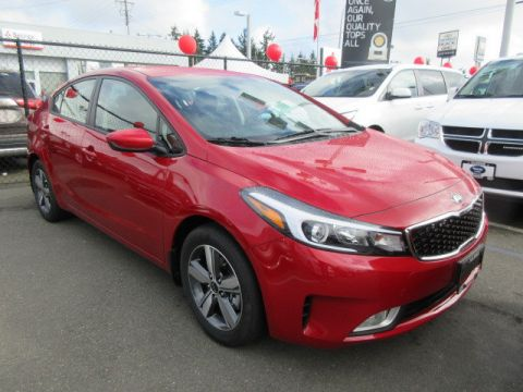 New 2018 Kia Forte LX+ Heated Seats Rearview Camera FWD Sedan