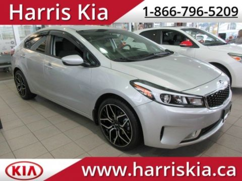 New 2018 Kia Forte LX+ Heated Seats Backup Camera FWD Sedan