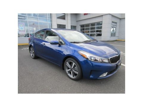 New 2018 Kia Forte SX Lane Assist Navigation Leather FWD Sedan
