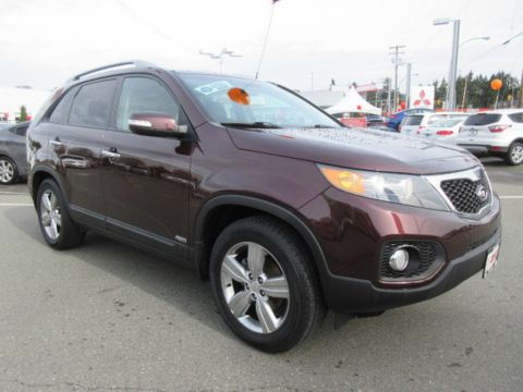 Certified Pre-Owned 2013 Kia Sorento EX AWD Tow Pkg Leather Sunroof AWD